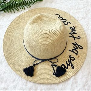 Days By The Sea Beach Hat